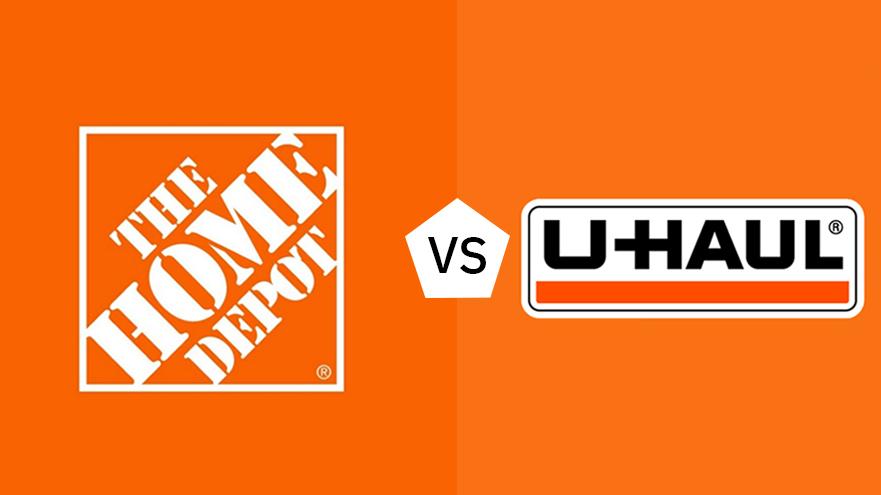 truck rental home depot vs uhaul